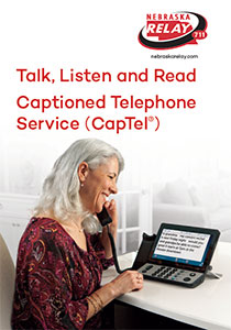 Nebraska CapTel brochure